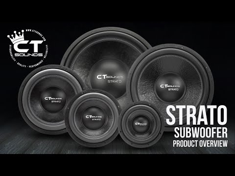 CT Sounds 2016 Strato 2.0 Subwoofer | Product Overview