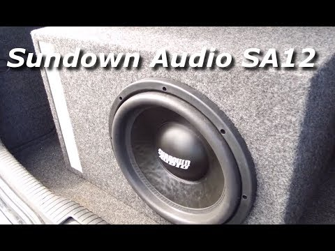 Sundown audio SA12 - VW mania 2017