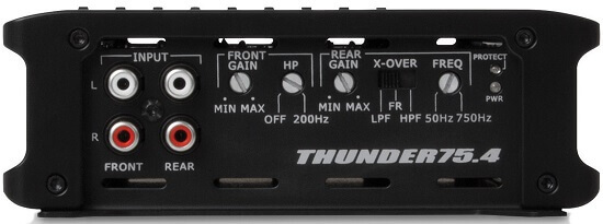 HPF and LPF amplifier filters on MTX THUNDER75.4