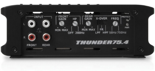 MTX Audio THUNDER 75.4 - Powerful Amplifier With Subwoofer Output