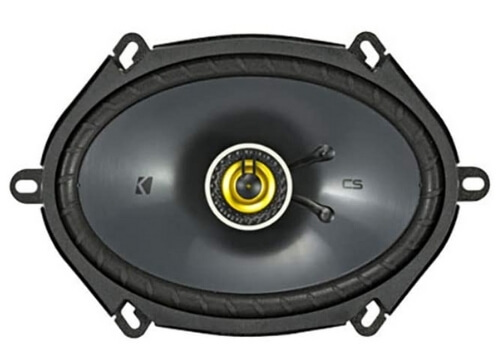 kicker CS bets 6x8 speaker for mids and highs