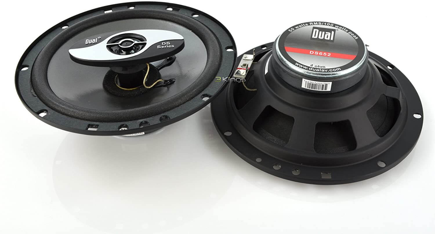 Dual DS652 really cheap and good car speakers