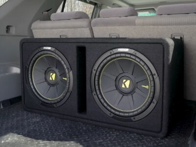 keeping your subwoofer enclosure in the trunk is the most common place