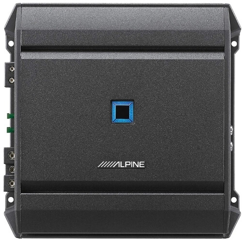 Alpine S-A60M S-Series - Powerful, Compact and Versatile Mono Amplifier