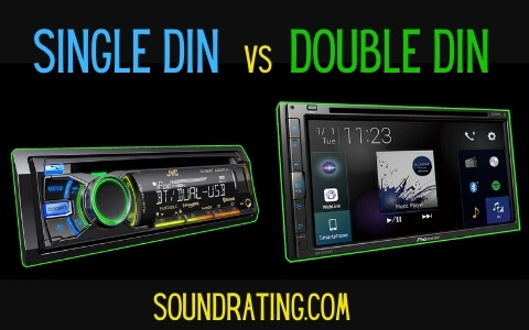 Single DIN v Double DIN car stereo receivers
