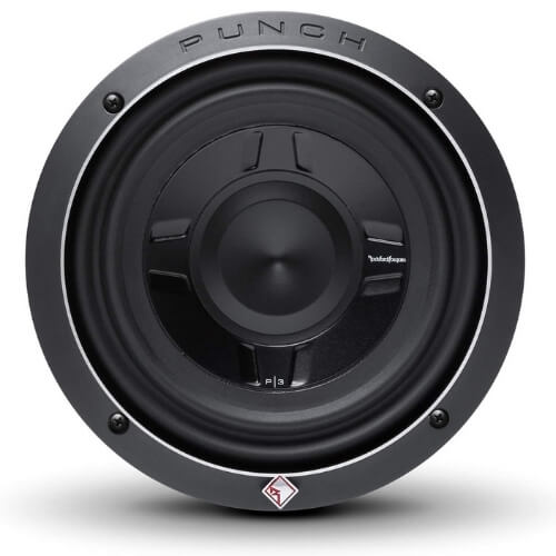 Rockford Fosgate P3SD2-8 8 Dual 2-Ohm Punch Series Shallow Mount Car Subwoofer