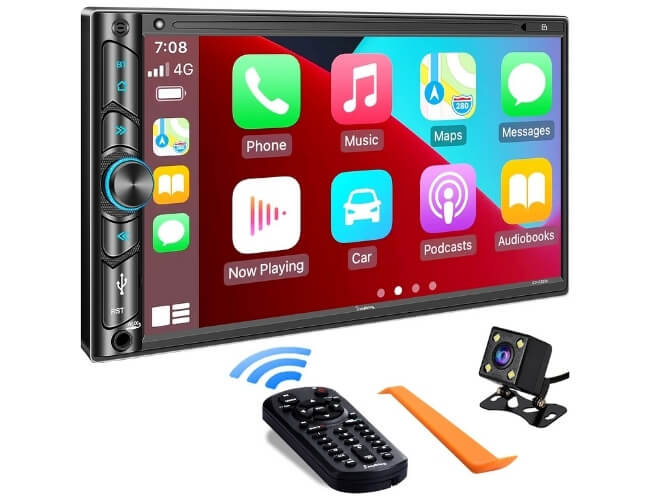 SJOYBRING Double Din Car Stereo Multimedia Player – Best Value for Money Double DIN Head Unit